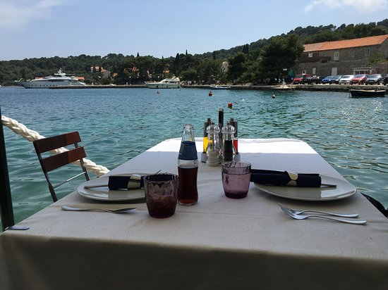 Zaton, Croatia: Views from the terrace