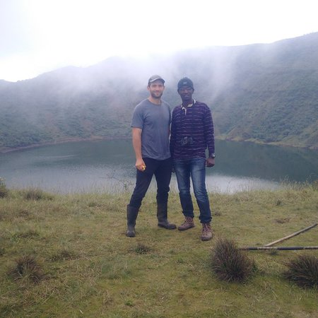 Golden Rwanda Safaris : Our Bisoke crater Lake Volcano Hiking are well Designed to let our Clients enjoy and see how gre