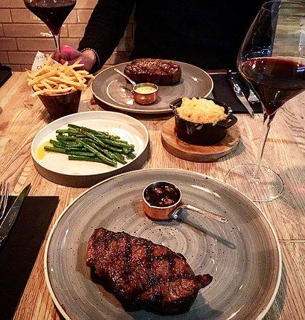Chop House Leith: Steak & sides