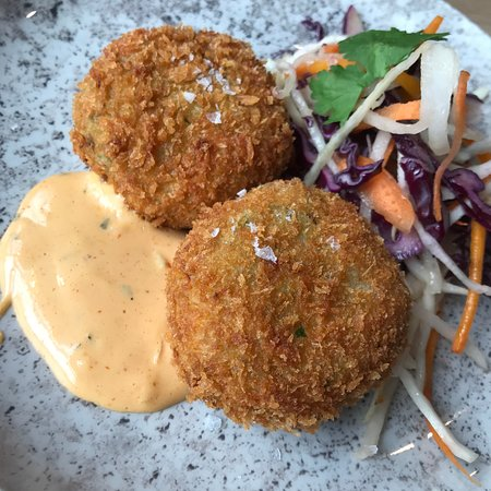 Chop House Leith: Crab cakes