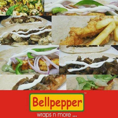 Bellpepper Wraps