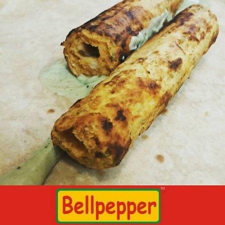 Bellpepper Seekh Kebab Chicken Wrap