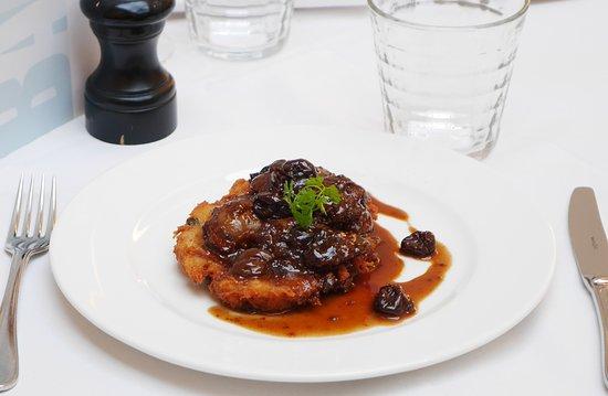 Baltic Restaurant & Bar: Chicken livers with potato pancake