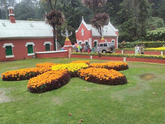Botanical Gardens: Entrance @ Botanical garden