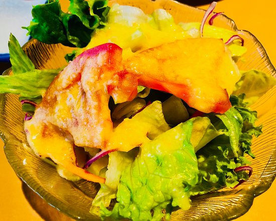 Sushi Hiro Japanese Restaurant: HOUSE GREEN SALAD