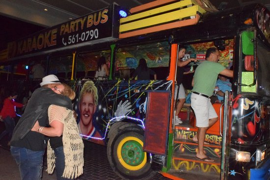 Karaoke Party Bus Aruba : We don't want the trip to end!