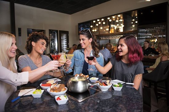 The Melting Pot - Albuquerque: 'Girls Night Out' at The Melting Pot should be a weekly occasion!