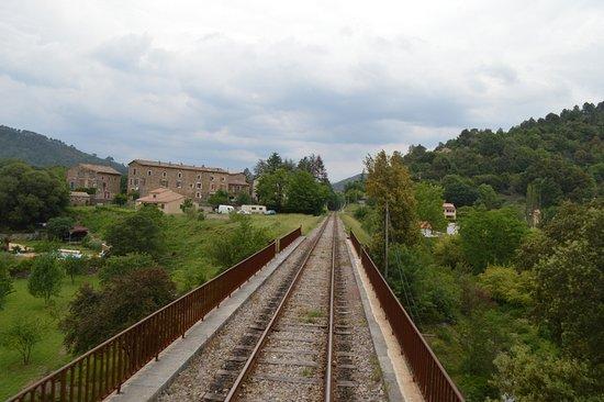 Train à Vapeur des Cévennes: VUE SUR LES RAILS
