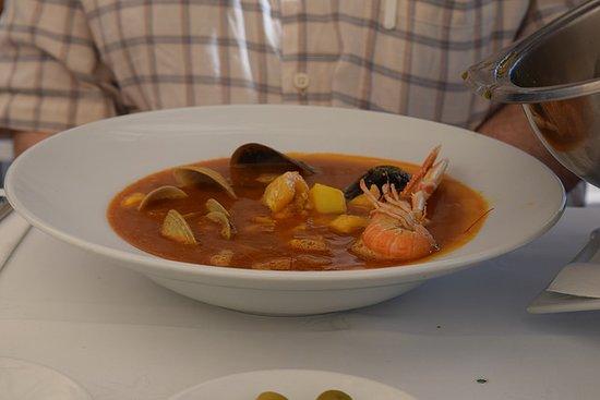 Chiringuito Torrecilla 3: Sopa de Marisco y Pescado