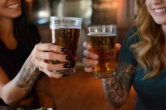 Brix Taphouse: 16 draft beers on tap!