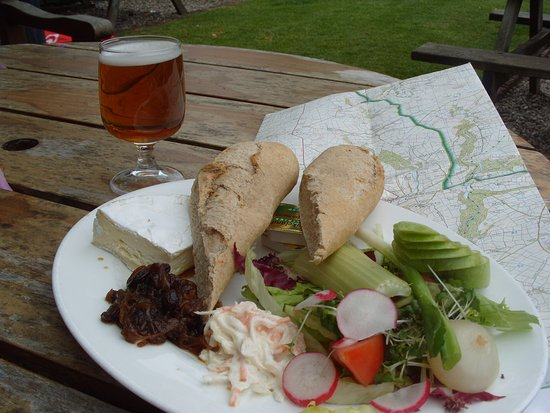 Exford, UK: Lunch
