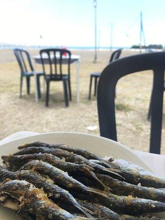 Restaurante Chiringuito Vicen Playa : Espetos