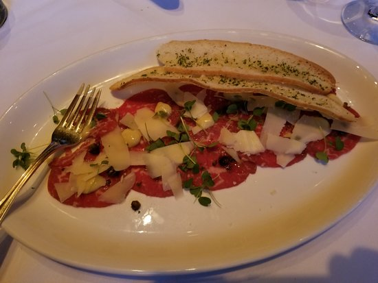 Gotham Steakhouse & Cocktail Bar: Beef Carpaccio