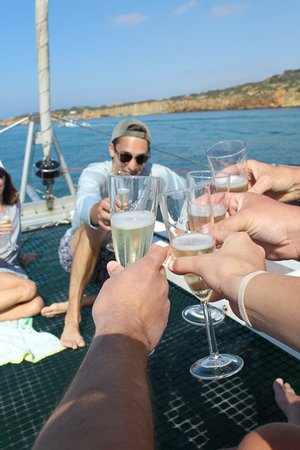 Location de yacht privé - lagon 410S2 : welcome drinks