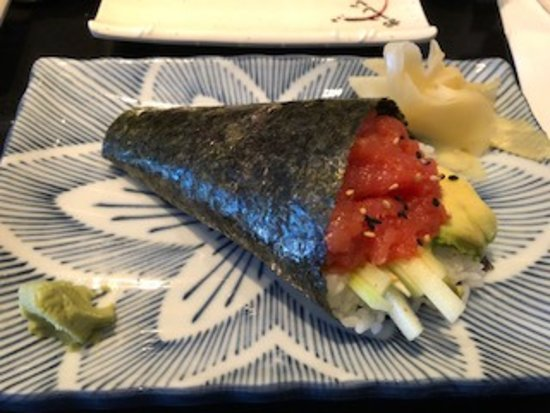 Riverview, FL: Excellent tuna handroll