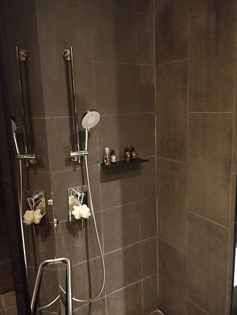 Hotel YAN: Well equipped shower