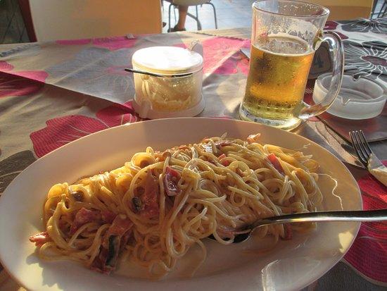 Something Different: спагетти