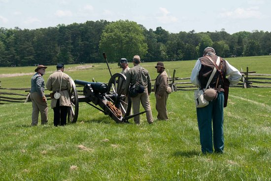 Manassas National Battlefield Park: Artillery demonstration