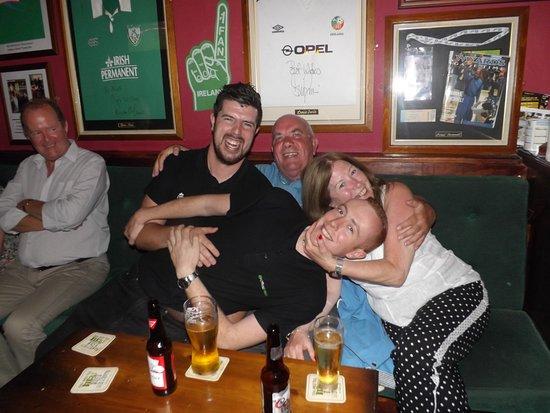 O'Riordans: Having a crazy drink