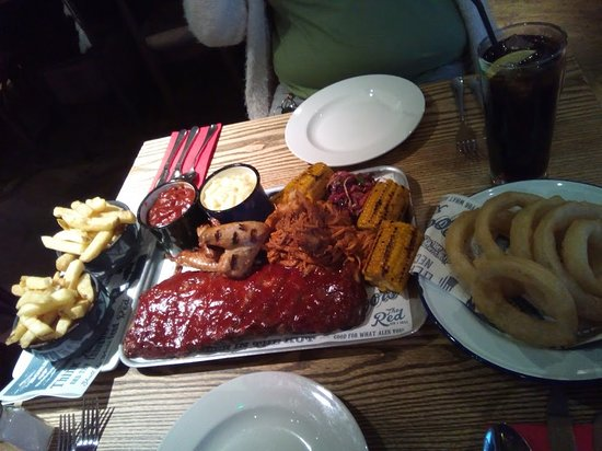 The Red Bar and Grill: BBQ Shared Platter