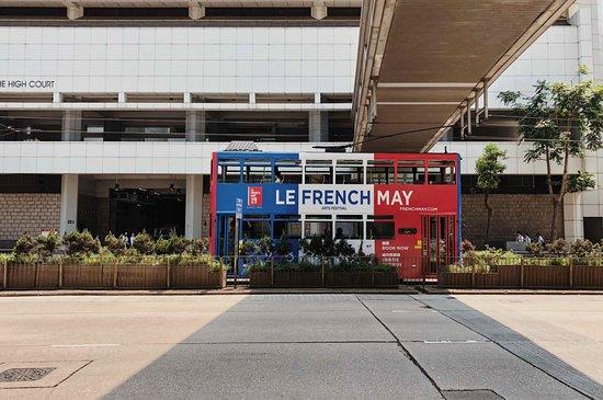 香港电车(叮叮车)照片