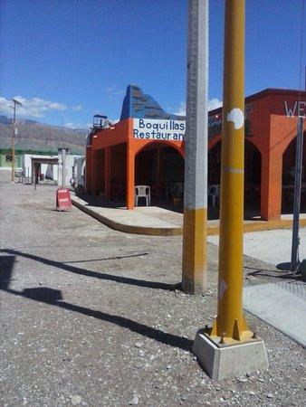 Boquillas del Carmen, México: Boquillas Restaurant, exterior