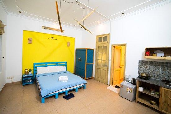 Lily Homestay Vong Thi: Minimalism Studio/Balbony/Silent Bedroom
