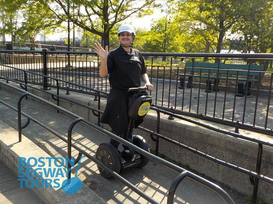 Boston Segway Tours: When was the last time you had this much #fun? If you can't remember, it's finally time you brea