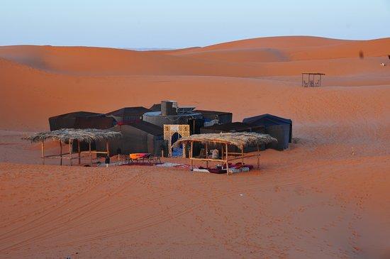 Sahara Bereber Tours: el campamento del desierto