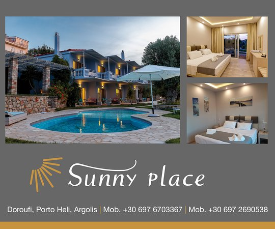 Sunny Place Resort: Sunny Place Porto Heli Logo