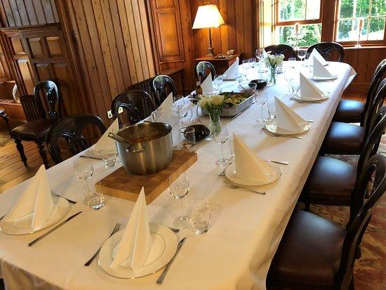 Evanton, UK: Dining room