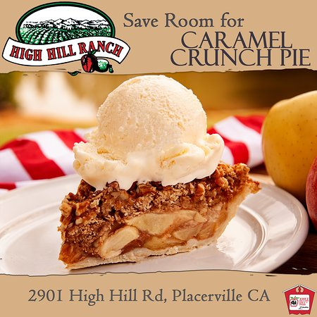 Placerville, Californië: Caramel Crunch Pie, one bite, and you'll be hooked!