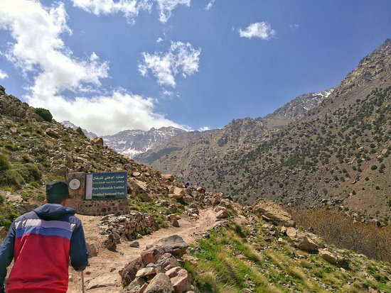 Toubkal Guide: Hassan leading the way