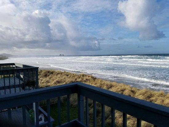 Rockaway Beach, Орегон: Ocean front view