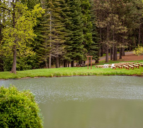 High Hill Ranch: Host your wedding or private event by our pond.
