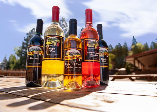 High Hill Ranch: Try our award winning Apple Wine!