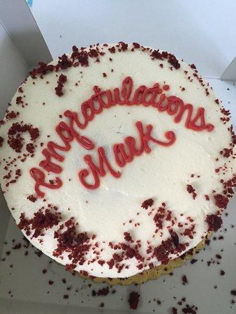 Spencer, NY: Cornell Graduation Celebration Cake