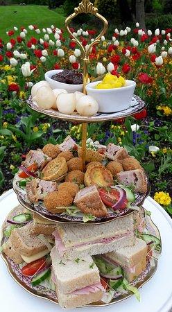 Liana's Tea Shop: Savoury Afternoon Tea coming soon