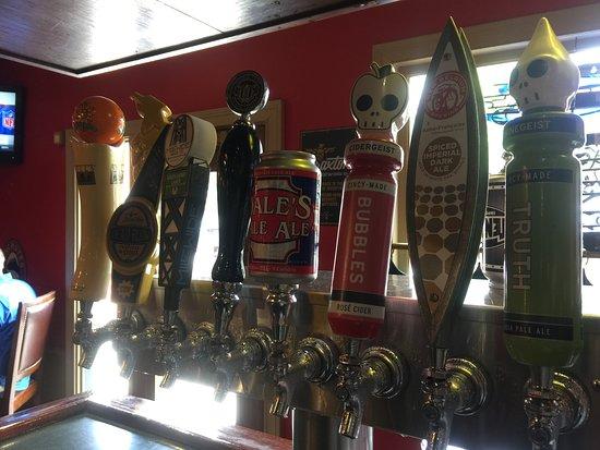 16 craft & local beers on draft. Green Derby Kentucky Bistro, Newport, KY