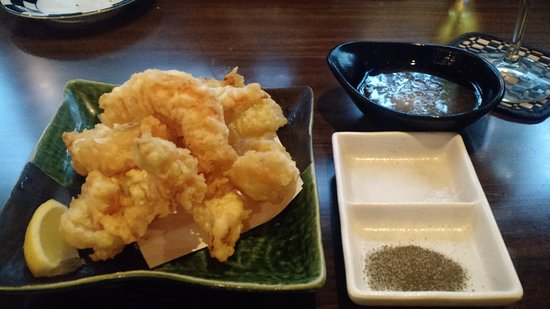 Wonderful Piping Hot Tempura Shrimp And Onion Picture Of Gazen