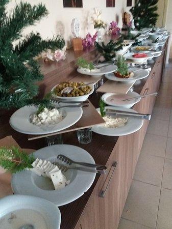 Elite Orkide Hotel: Завтрак