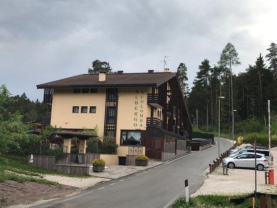 Albergo Lago Santa Colomba: Wel een hele tocht naar dit hotel maar echt de moeite waard.