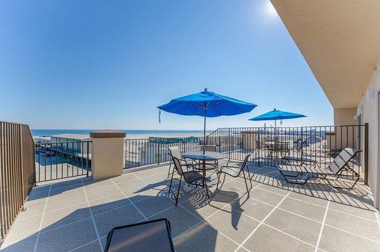 Balcony - Picture of Shore Plaza Beach Resort, Wildwood - Tripadvisor