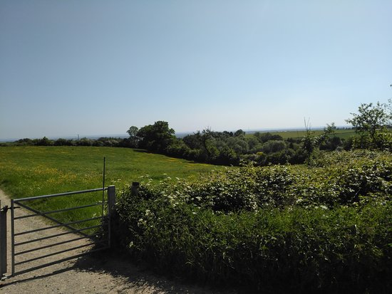 Betws yn Rhos, UK: View from site