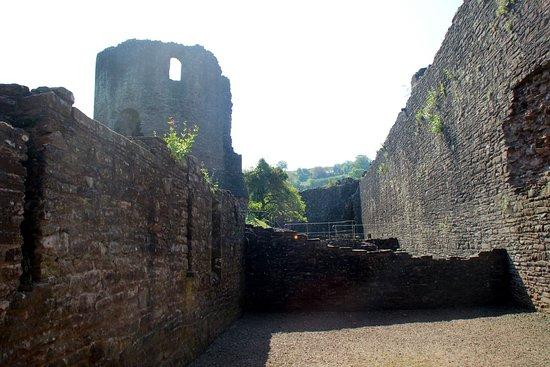 Skenfrith Castle : rooms