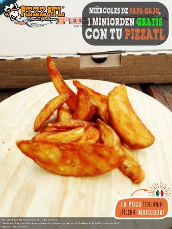 Pizzatl - Pizzeria Delicatessen: ¡Sólo los Miércoles! 👩🏻🍳👨🏻🍳  #Orizaba #Pizzatl #pizza #lapizzadeorizaba #consumelocal