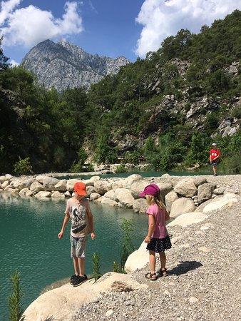 Goynuk Canyon: Первые озёра (500м от входа)