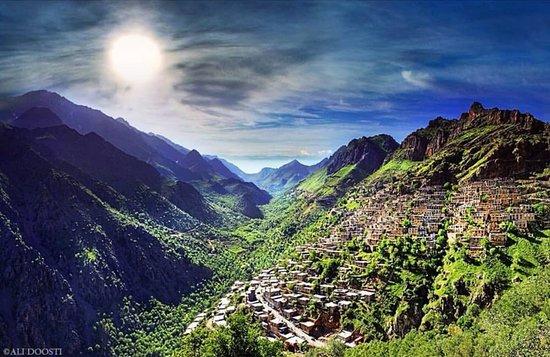 Kordestan Province, Iran: Howraman the oldest human's habitat on earth