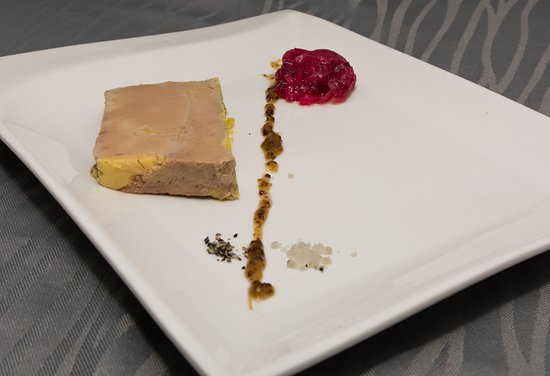 Le Parc: Foie Gras Maison accompagné de son chutney d'oignons