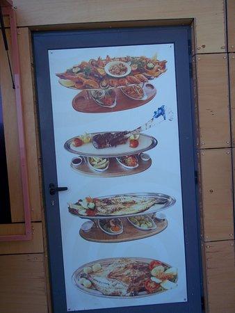 Esplanada Do Tunel: picture of menu